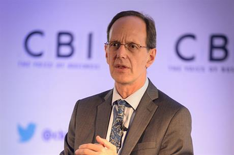 CBI director general John Cridland criticised the UK government's recent change to climate policy