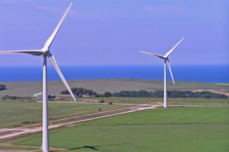 Falck's Boyndie 2 wind farm in Scotland