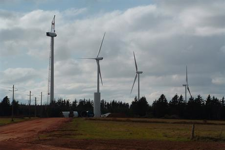 Prince Edward Island government is planning an additional 70MW of wind capacity (pic: EEF)