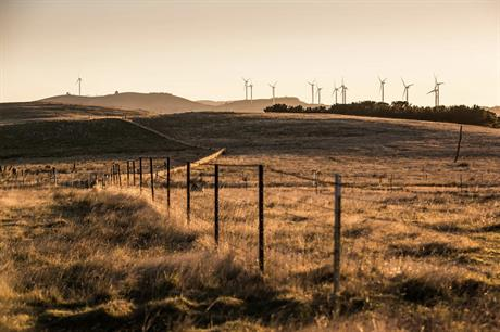 Infigen owns stakes in more than 1GW of operational wind power capacity, including the 140.7MW Capital wind farm in New South Wales, Australia