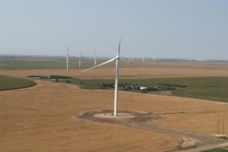 The portfolio includes the 150MW Carousel wind farm in Colorado (pic credit: NextEra Energy Resources)