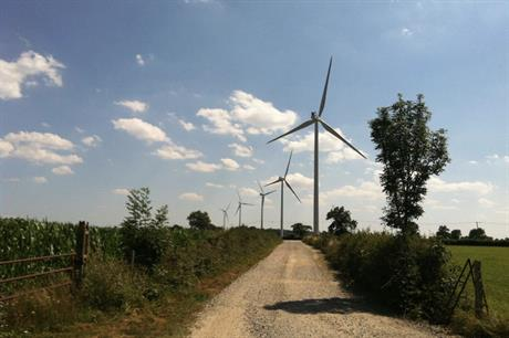 Aalto Power's 12MW Aerodis Les Chaumes wind farm in Creuse, central France