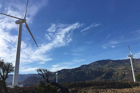 Rame Energy owns the 1.8MW Cerro Coihue site in southern Chile