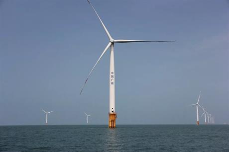 Investments in Chinese offshore wind projects totalled over $11 billion in 2018, according to BNEF