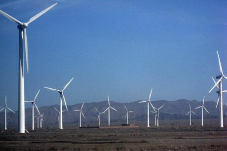 Wind power in Xinjiang suffered curtailment rates of 32% (pic: taylorandayumi)