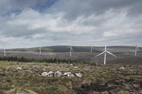 Vattenfall commissioned its 36.9MW Clashindarroch I wind farm in 2015