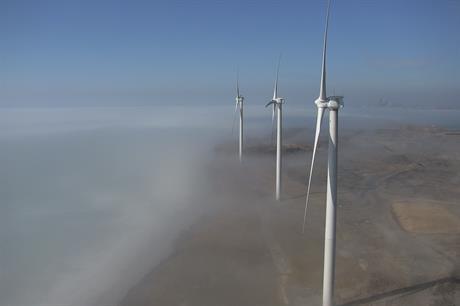Much of BP's US portfolio comprises Clipper and GE turbines