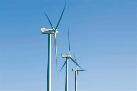 The contract is for Gamesa's G97 turbines