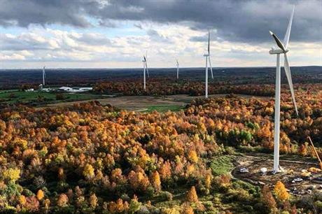 RES has developed a number of projects in the US, including the Copenhagen wind farm in New York state