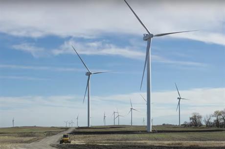 Geronimo Energy developed Xcel Energy's 200MW Courtenay wind farm in North Dakota