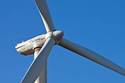 The projects will use Acciona's AW3000 turbine