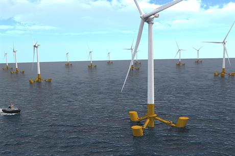 The Île de Groix project will now consist of three V164-9.5MW turbines installed on Naval Energies' floating platforms