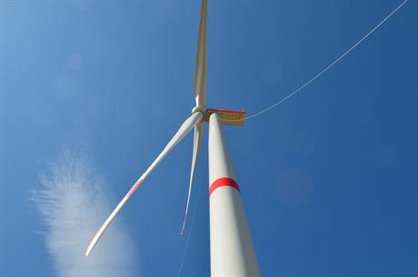 Nordex installed the N149/5.X model at a wind farm near Berlin in eastern Germany