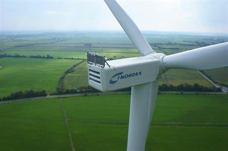 The project will use the N100-3.3MW turbine