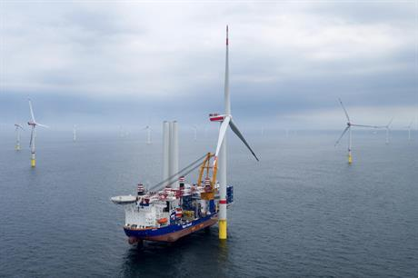 MHI Vestas' V164-8.4, installed at Deutsche Bucht and Norther, is currently Europe's most powerful operational wind turbine
