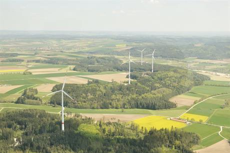 ABO Wind's 13.2MW Dinkelsbühl-Wilburgstetten wind farm in Bavaria, Germany