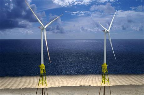 What Dominion believes the two-turbine 12MW offshore project could look like