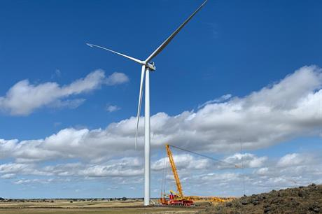 Deliveries grew in Q1, but Vestas felt the Covid-19 impact on its profit margins (pic: Tilt Renewables)