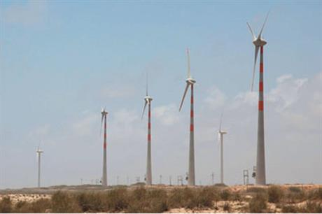 Wind World manufacturers its own version of Enercon's E53 turbine
