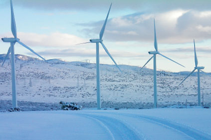 The 190 Vestas v90 turbines represent Vestas' largest order for a single site