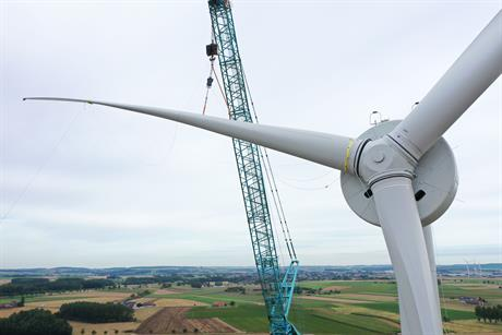 Enercon has added the E-115 high-wind variant to its new modular EP3 platform