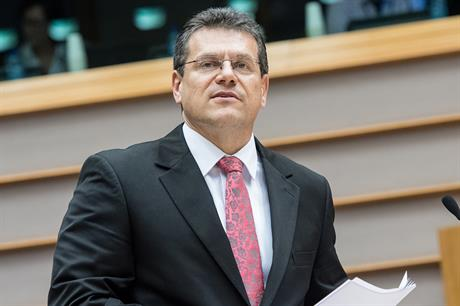 EC vice-president of Energy Union, Maros Sefcovic © European Union 2015 - European Parliament