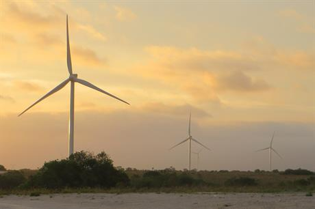EDF-EN's 61.5MW Grassridge project uses Vestas V112 turbines (credit: EDF Energies Nouvelles)
