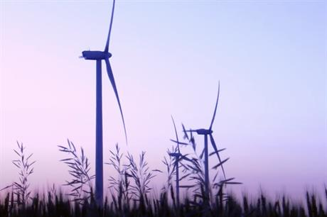 EDPR had already installed turbines at the Nations Rise wind farm (not pictured)