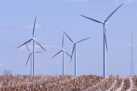 EDPR's 240MW Twin Groves wind project in the US