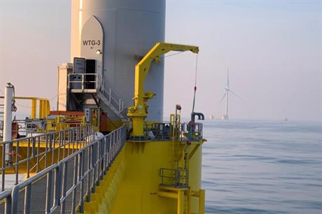 The first turbine of the 25MW Windfloat Atlantic floating offshore wind project began generating in late 2019 (pic: EDPR)