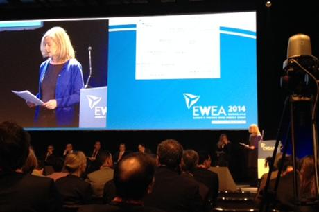 The CEO panel at the EWEA 2014 conference
