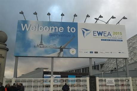 EWEA 2015 is taking place in Paris 17-20 November