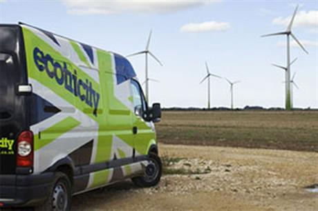 Ecotricity operates a number of wind farms, including the 16MW Fen Farm