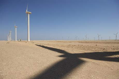 Vestas turbines at the Zafarana wind project in Egypt (pic: Danish Wind Industry Association)