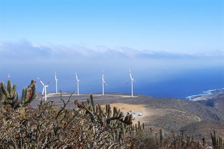 The 115MW El Arrayán project in Chile was completed in 2014