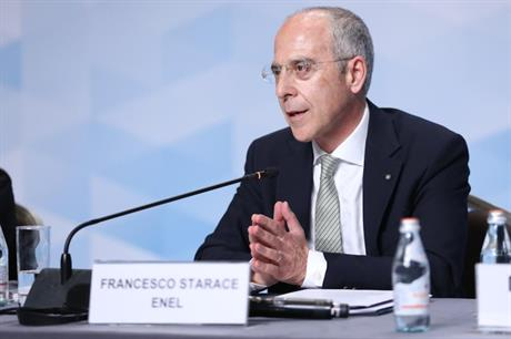Enel CEO Francesco Starace (pic: International Renewable Energy Agency)