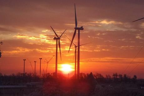 Vestas supplied turbines for EGP's Origin project in Oklahoma