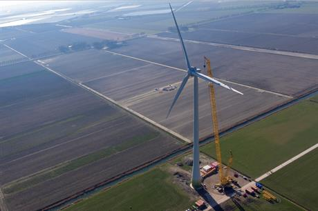 Enercon's EP3 E-138 prototype has been installed at the Wieringermeer test site in the Netherlands (pic: Enercon)