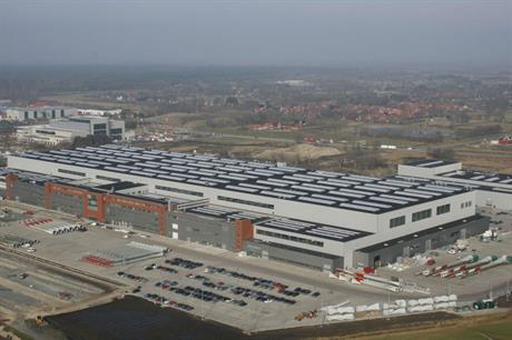 Enercon production facilities in Aurich