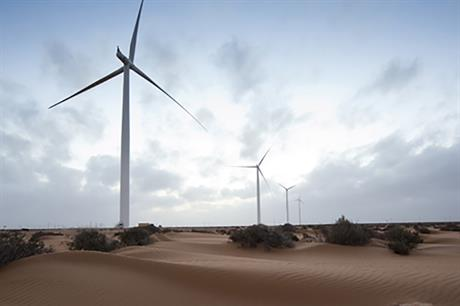 Siemens and Enel have been criticised for developing projects in the disputed Western Sahara territory