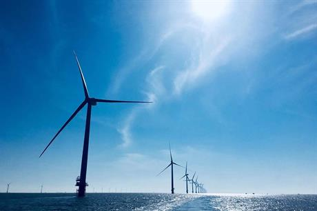 LM Wind Power supplied the blades for Envision's 4.2MW turbines at the Rudong offshore wind project in China (pic: Envision)