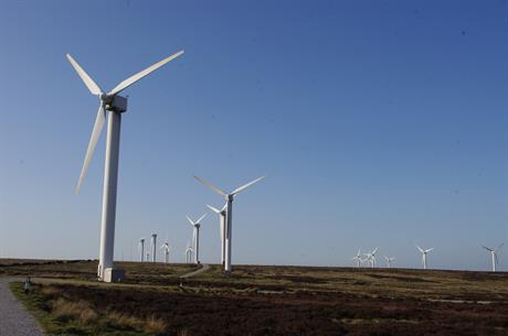 The 9.2MW Ovenden Moor project was commissioned in 1993 and has 23 turbines (Pic: Rob Glover)