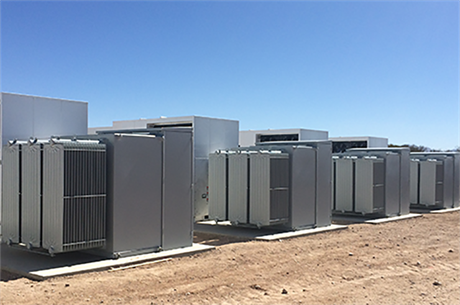 An E.on energy storage project in Texas, US