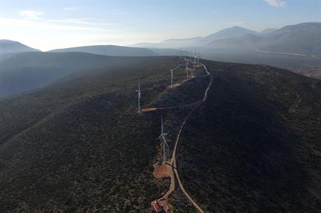 Eren RE has wind assets in Argentina, Egypt, Greece (pictured) and Zambia