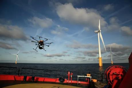 Esvagt already uses drones to inspect blades at wind farms operated and piloted from its vessels through a joint venture with artificial intelligence company Wind Power Lab