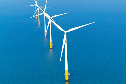 Kentish Flats offshore wind farm