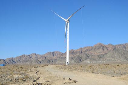 Goldwind's 1.5MW at Xitieshan, Qinghai province