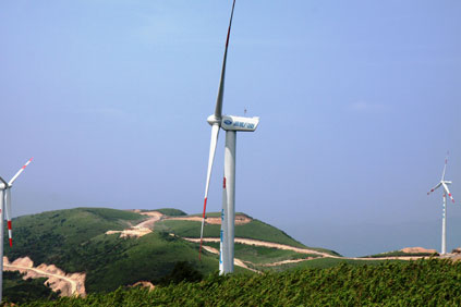 Siyanping Wind Farm set for completion by end of 2010