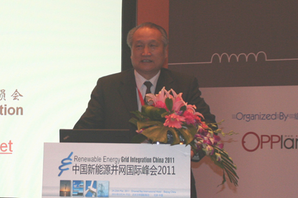 Shi Pengfei, vice-president of China Wind Energy Association