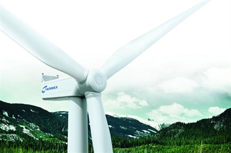 Specialised Delta: Nordex was among manufacturers launching turbines for forested areas